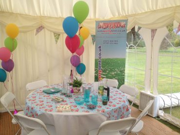 Summer Marquees for Suffolk and Essex.